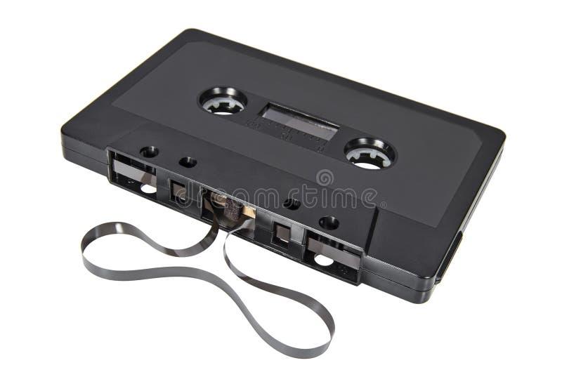 Rétro cassette sonore pour le magnétophone image libre de droits