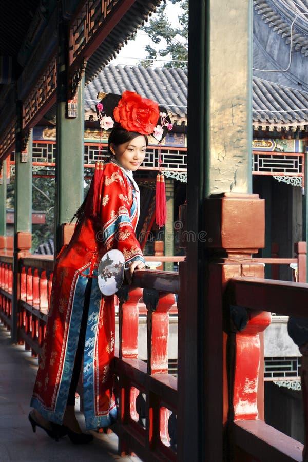 rétro chinois de beauté images libres de droits