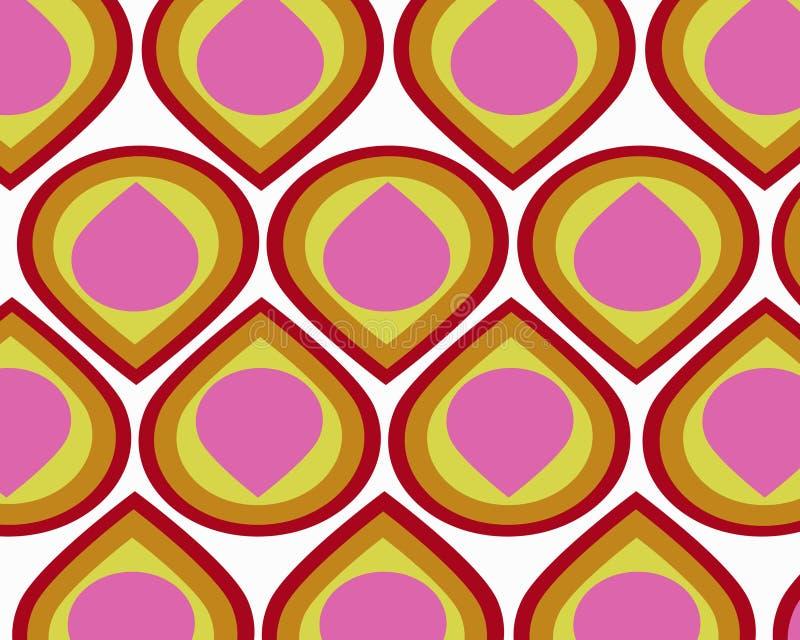 Download Rétro Collage Coloré De Larmes Illustration Stock - Illustration du fond, rétro: 8656540