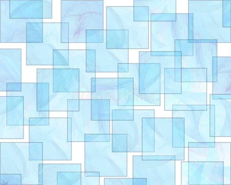 Rétro configuration de fond d'Aqua de type illustration de vecteur