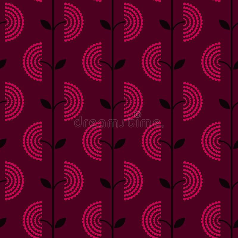 Download Rétro Configuration Florale Illustration de Vecteur - Illustration du contexte, directionnel: 8661524