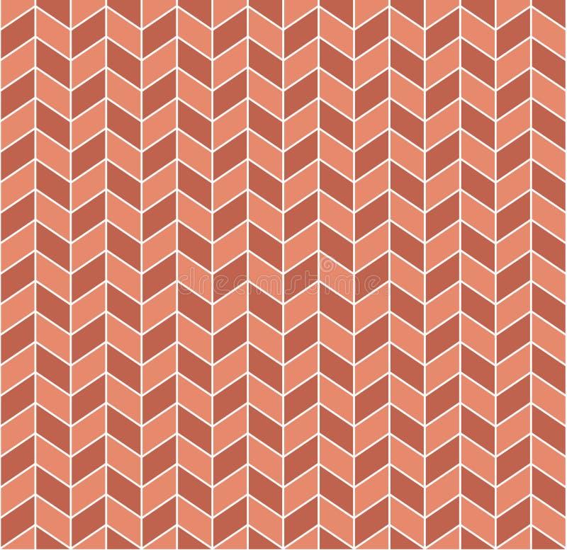 Rétro configuration géométrique sans joint illustration stock