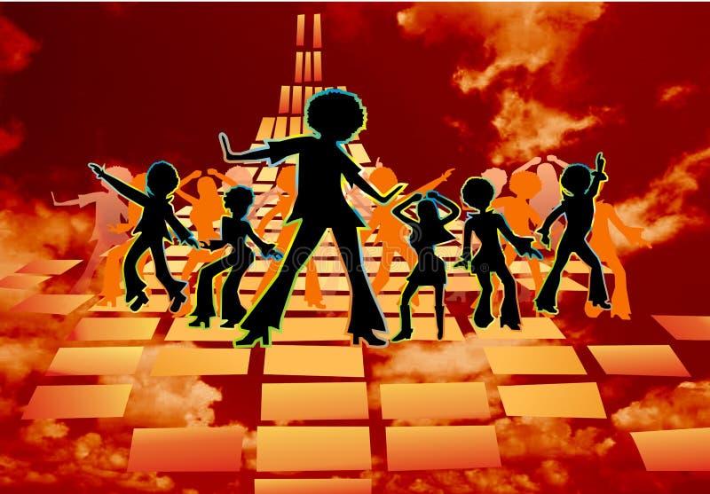 Rétro disco image libre de droits