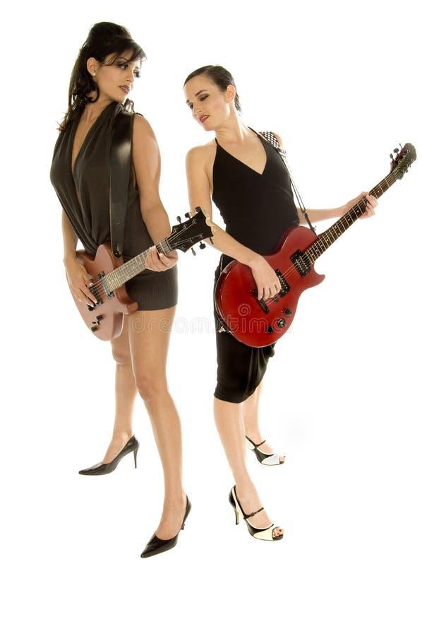 Rétro filles de roche de Glam photos stock