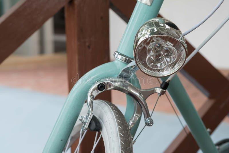 Rétro fin de phare de bicyclette de vintage  photos stock