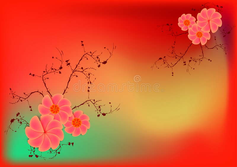 Download Rétro fleurs illustration stock. Illustration du mode - 2131011