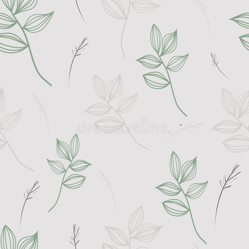 Rétro fleurs illustration stock