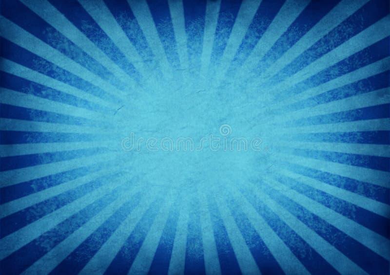 Rétro fond bleu éclatant illustration stock