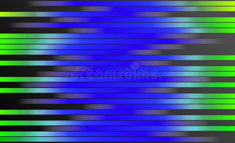 Rétro fond coloré de rayures - papier peint de conception graphique de Digital illustration stock