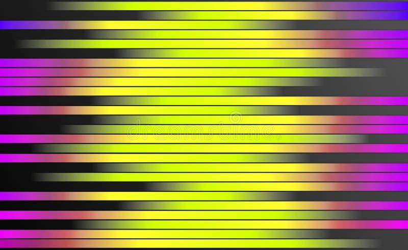 Rétro fond coloré de rayures - papier peint de conception graphique de Digital photo stock
