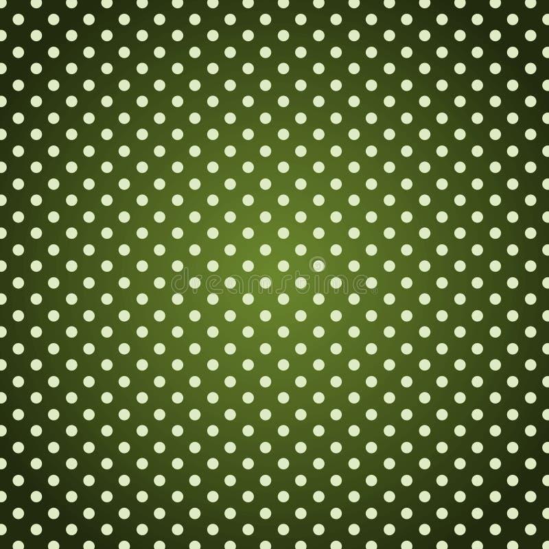 Rétro fond de points de polka de vintage grunge illustration de vecteur