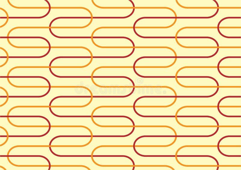 Rétro fond jaune image stock