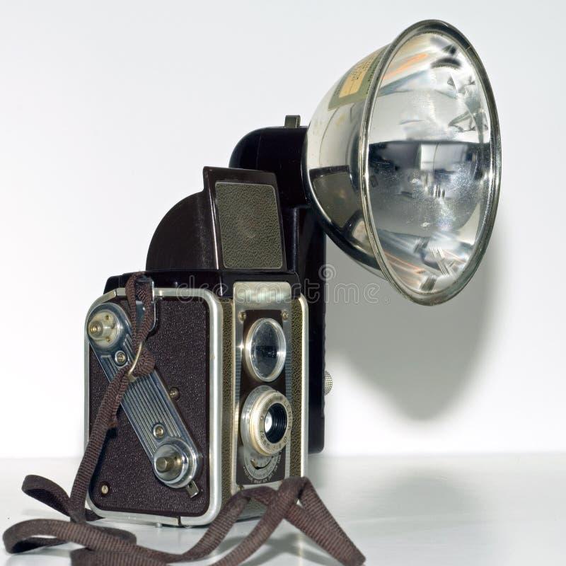 Rétro grand dos d'appareil-photo de kodak de duaflex images libres de droits