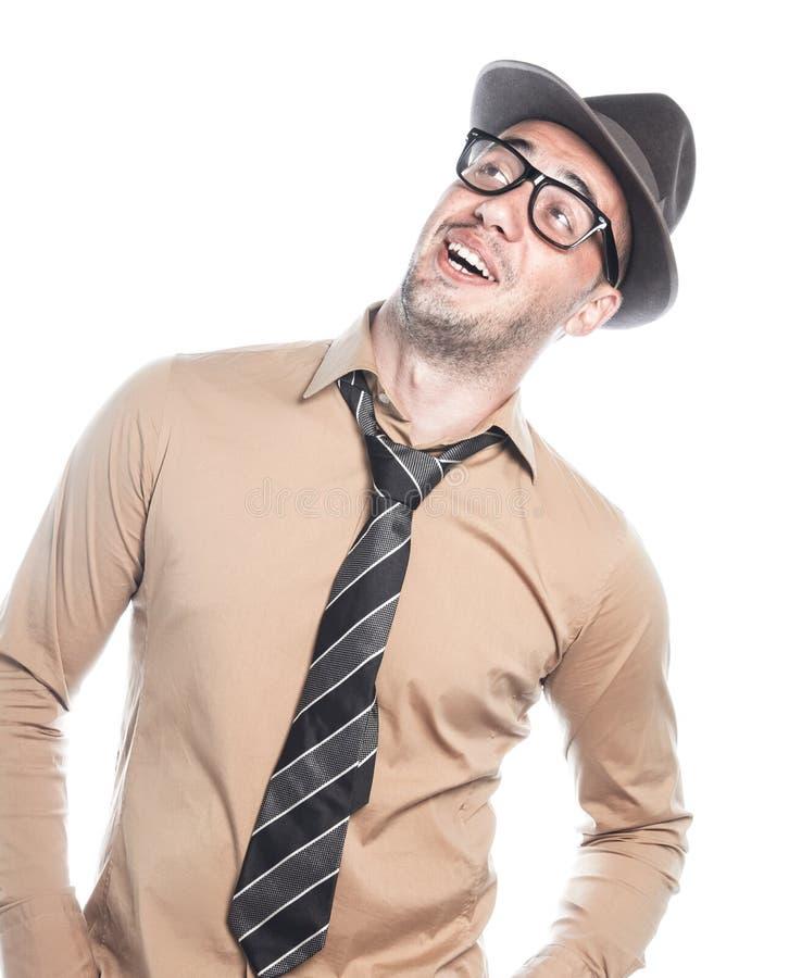 Rétro homme d'affaires américain photo stock