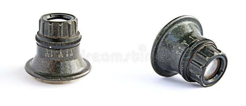 Rétro lentille photos libres de droits
