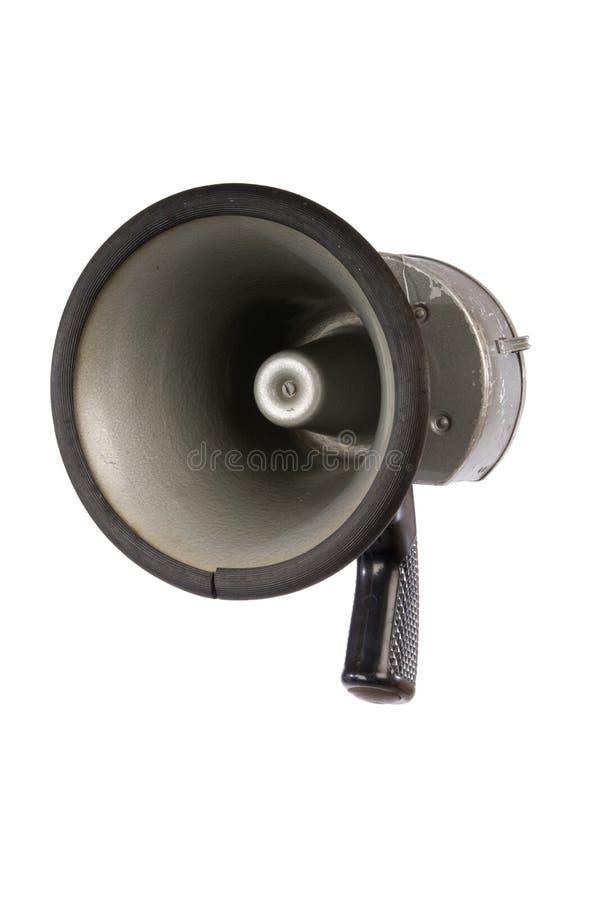 Rétro mégaphone photographie stock