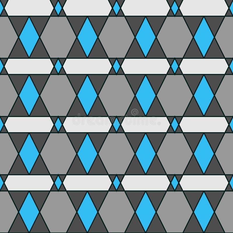Rétro modèle des formes géométriques Contexte coloré de mosaïque Le rétro fond de hippie géométrique, placent votre texte sur le  photo stock