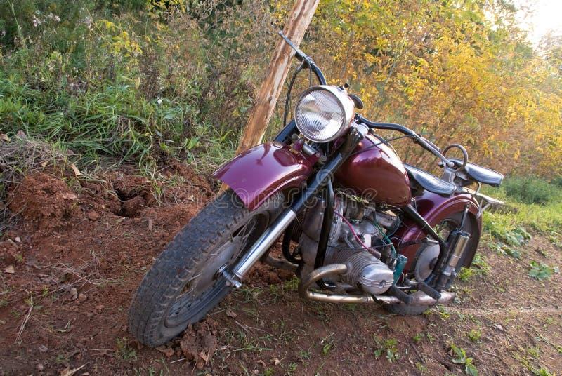 Rétro moto photo stock