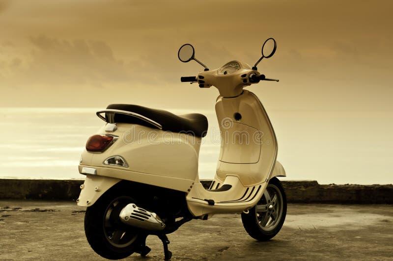 Rétro motocyclette photos libres de droits