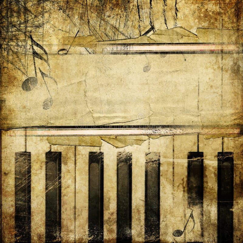 Rétro musique illustration libre de droits