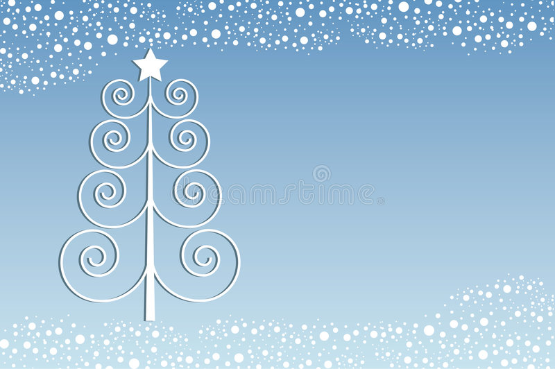 Rétro Noël illustration stock