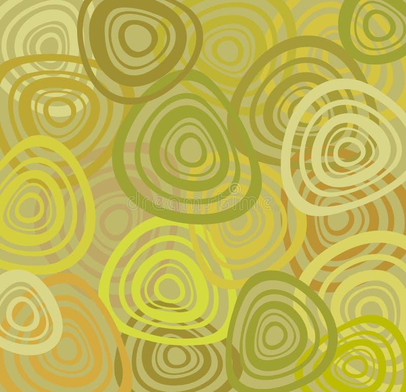 Rétro papier peint illustration stock