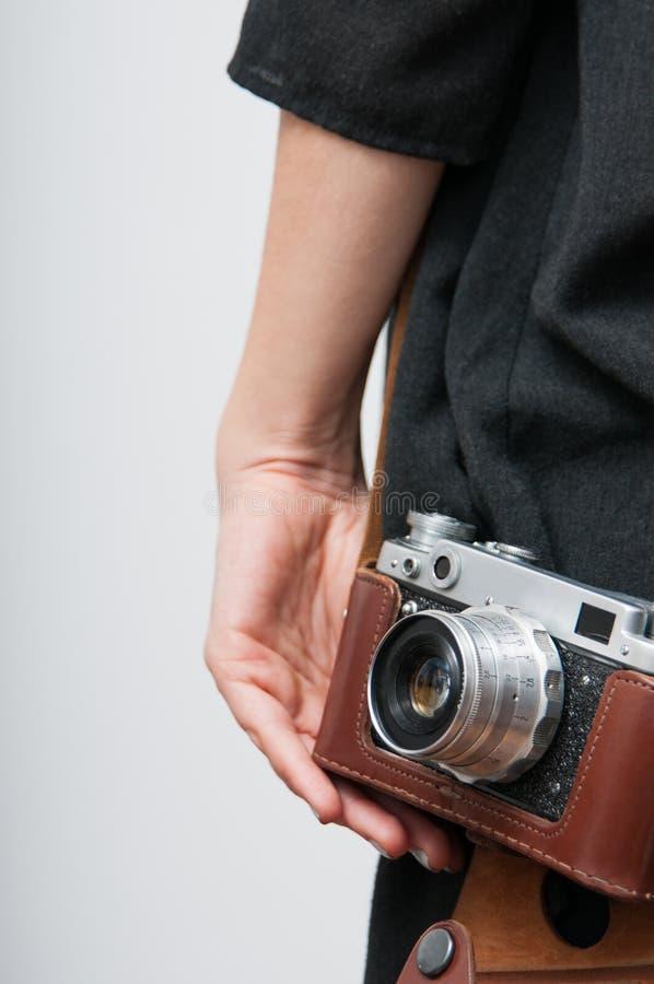 Rétro photographe image libre de droits