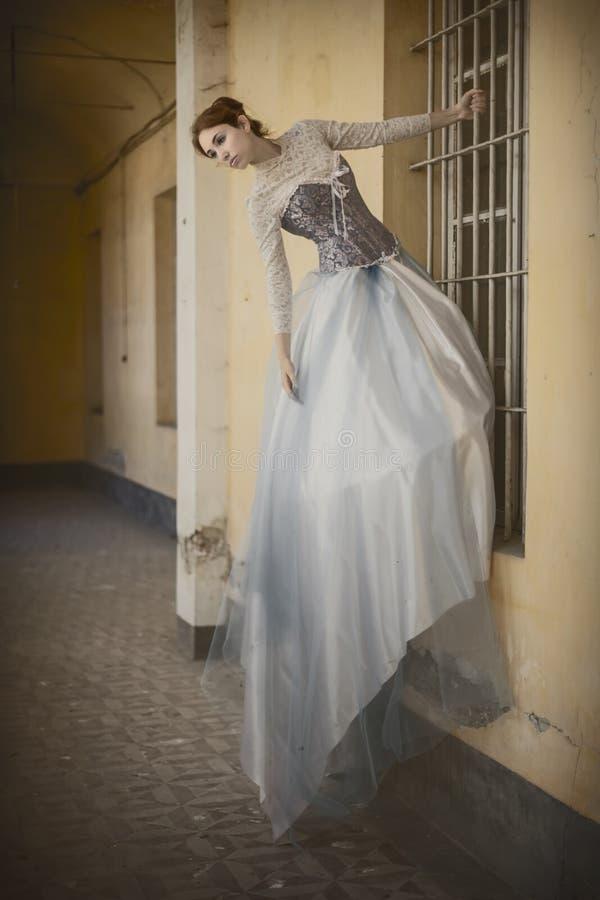 Rétro portrait classique de style photographie stock