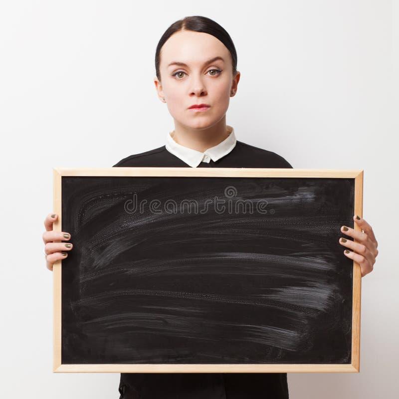 Rétro portrait d'une jeune femme photo libre de droits