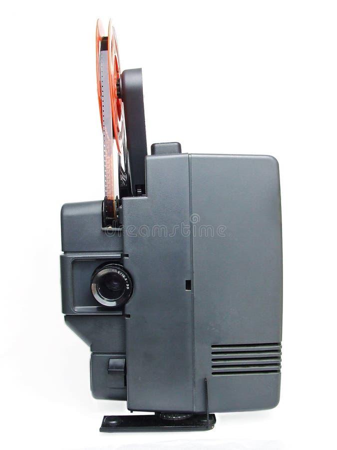 Rétro projecteur de film images stock