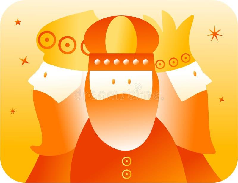 Rétro rois illustration de vecteur