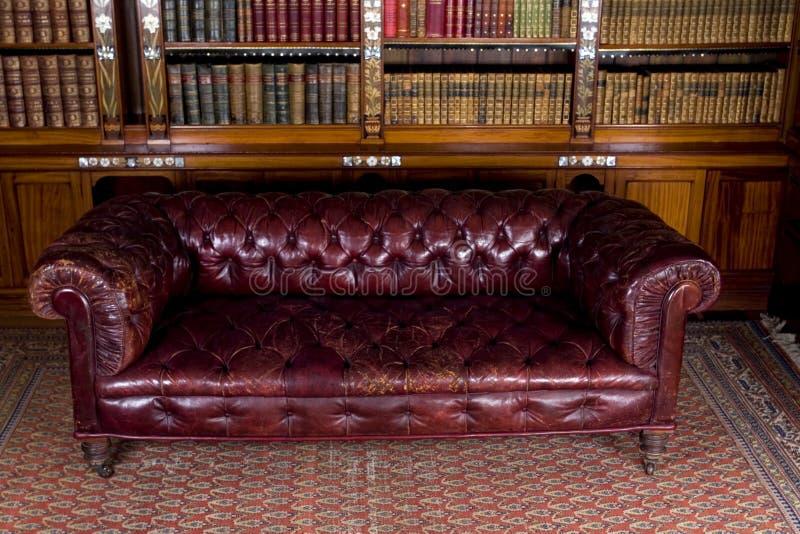 Rétro sofa image libre de droits