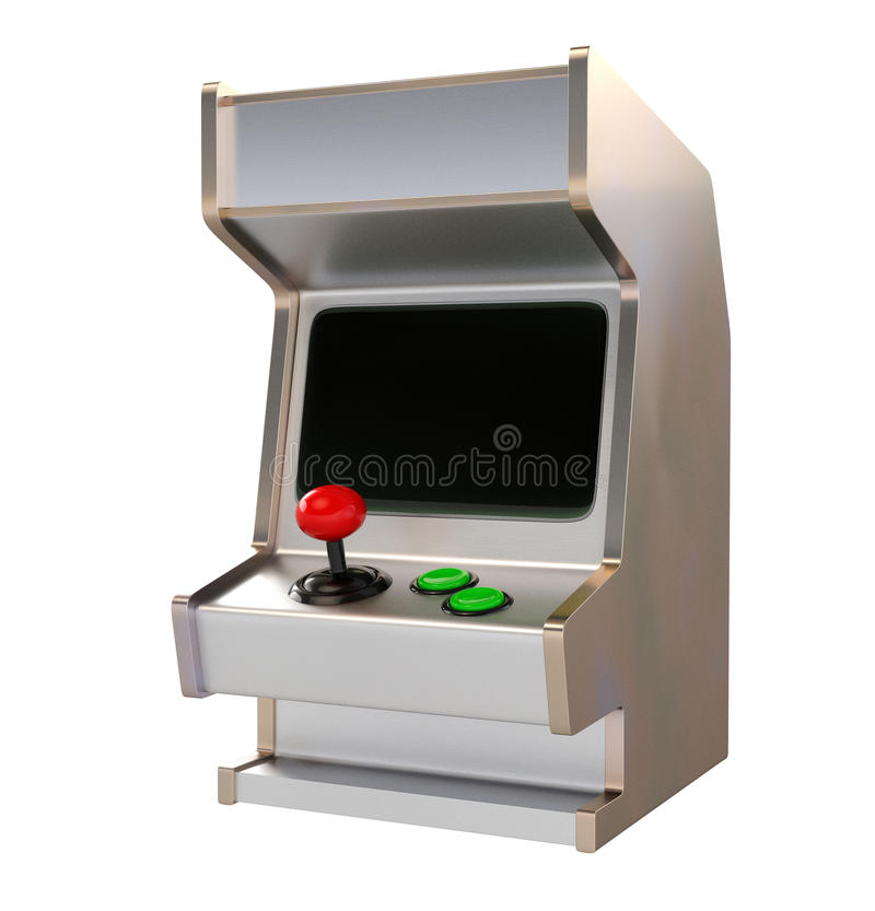 Download Rétro Style Arcade Game Machine Illustration Stock - Illustration du objet, dispositif: 56480979