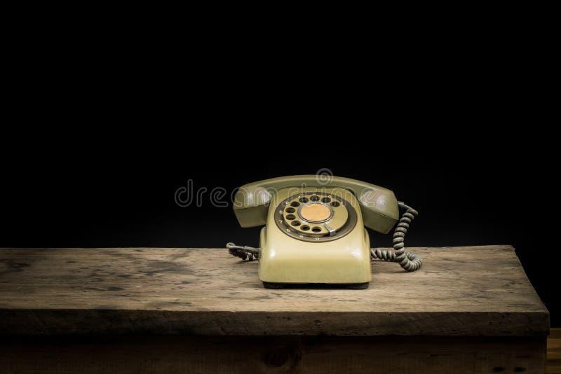 Rétro téléphone photos libres de droits