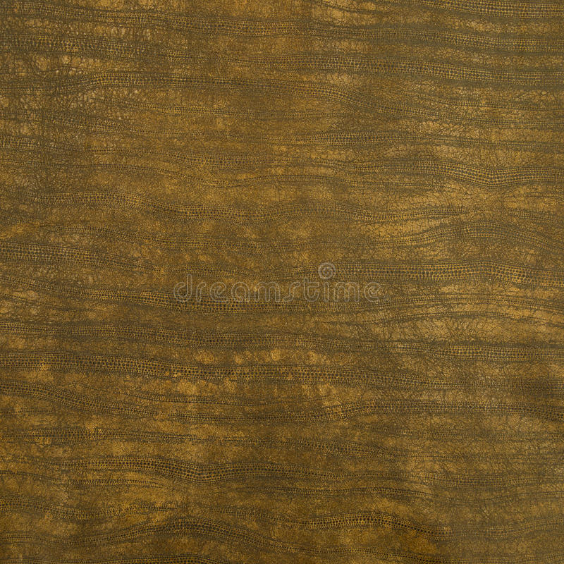 Rétro texture en cuir d'impression de Brown images stock