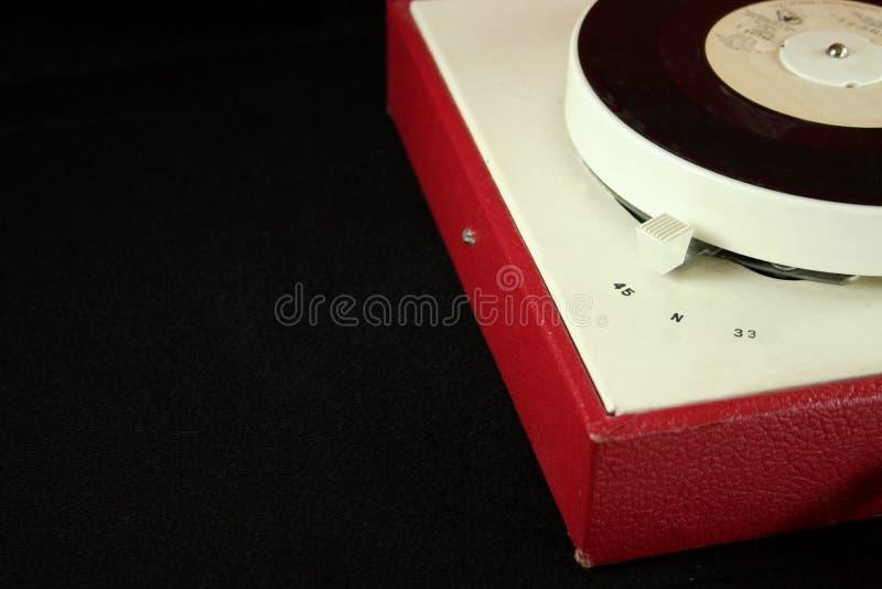 Rétro tourne-disque images libres de droits