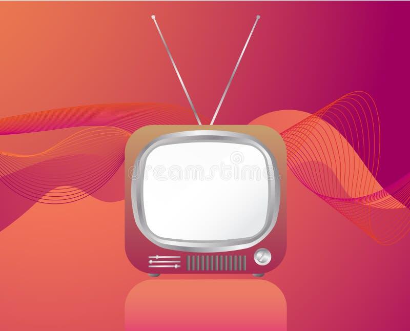 rétro TV illustration libre de droits
