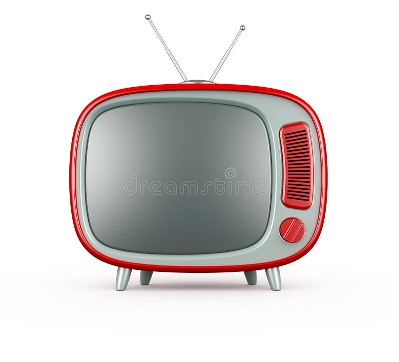 Rétro TV illustration stock