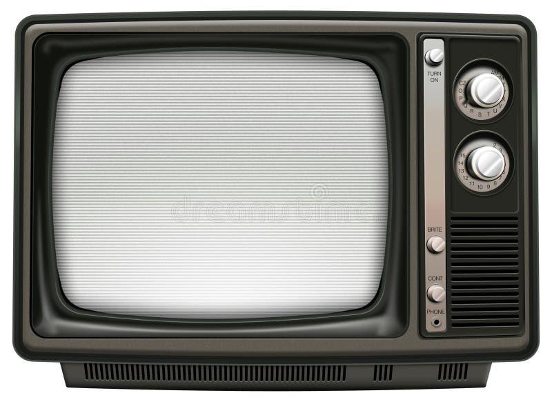 Rétro TV image libre de droits