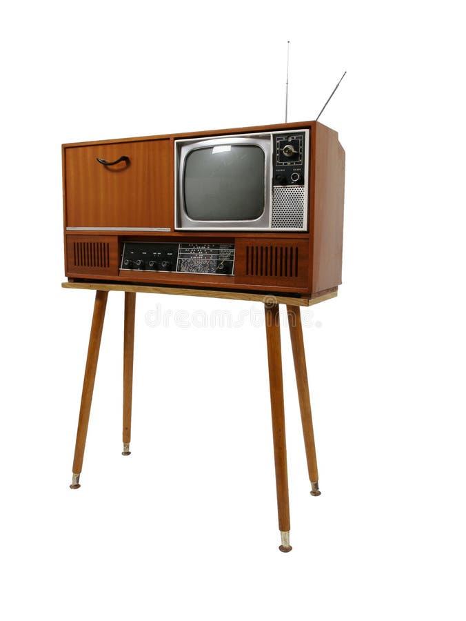 Rétro TV photo libre de droits