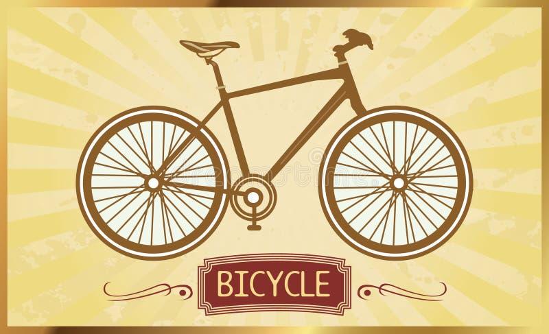 Rétro vélo photo libre de droits