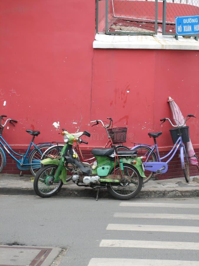 Rétro vélos images libres de droits