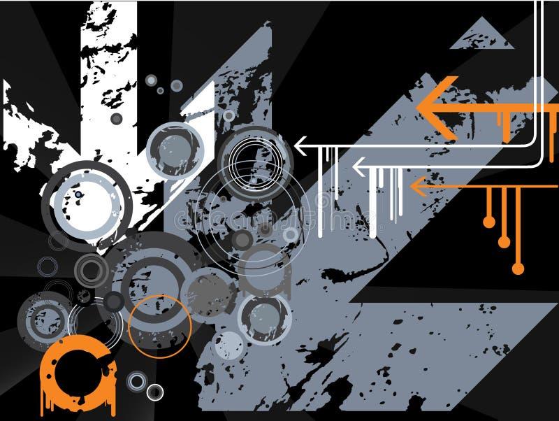 rétro vecteur illustration de vecteur