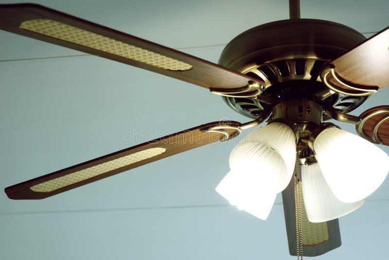 Rétro ventilateur de plafond images libres de droits
