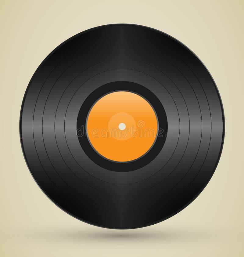 Rétro Vinyle Photos libres de droits