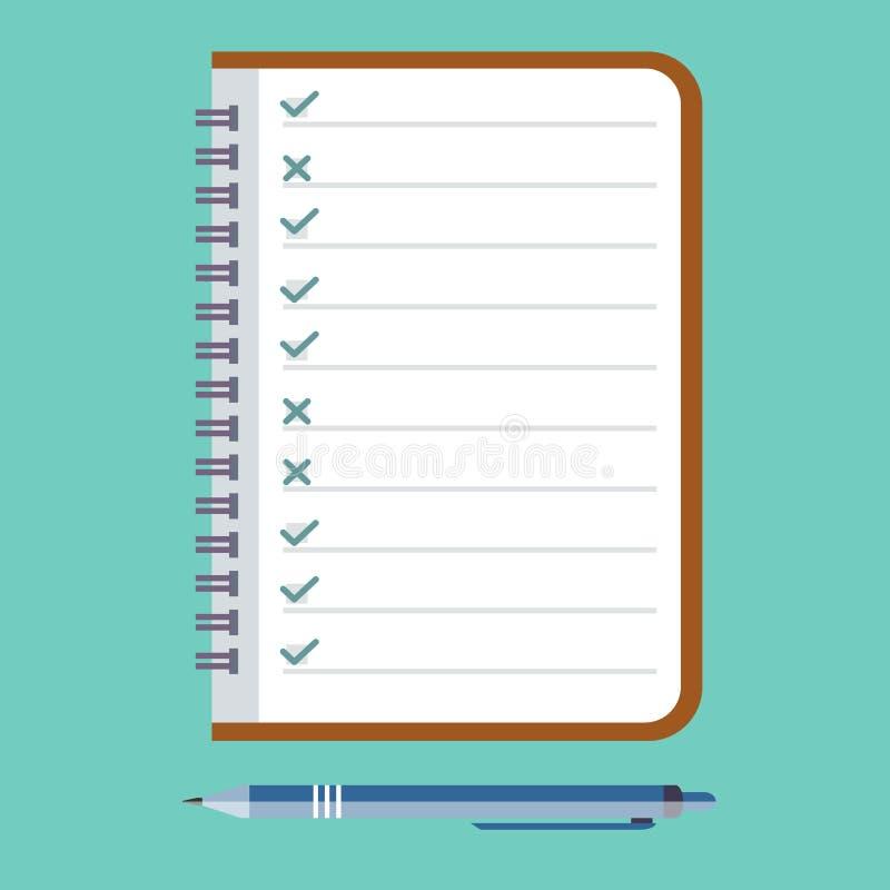 Rétroaction d'icône de concept, entrevues, questionnaires, scrutin illustration de vecteur