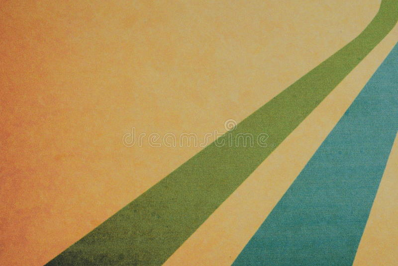 Rétros couleurs en pastel avec le fond grunge Motif de vintage photo stock