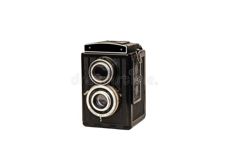 Rétros objectifs de caméra de photo de film photographie stock
