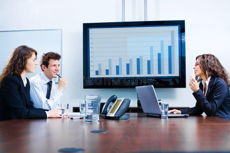 réunion d'affaires image stock