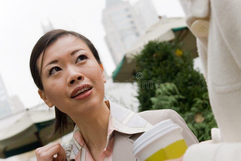 Réunion d'affaires dans la ville photo libre de droits